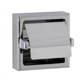 Support de papier toilette en applique